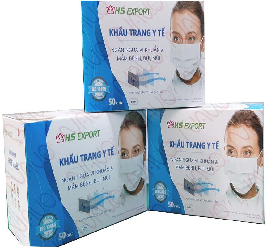 Healthy Protective Face Mask 4 Layers